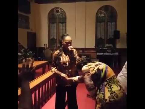 Dr. Yolanda Gamble Guest Speaker at the Glory Gathering 2016 Part 1