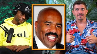 Steve Harvey says men CANNOT have female friends | Charlamagne Tha God and Andrew Schulz