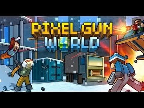 Spiele Test Pixel Gun World Deutsch PC YouTube - Minecraft pixel spiele