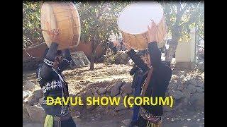 Köy usülü takı sonrası davul show (İbik köyü)