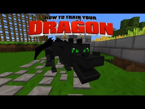 Minecraft Toothless How To Train Your Dragon