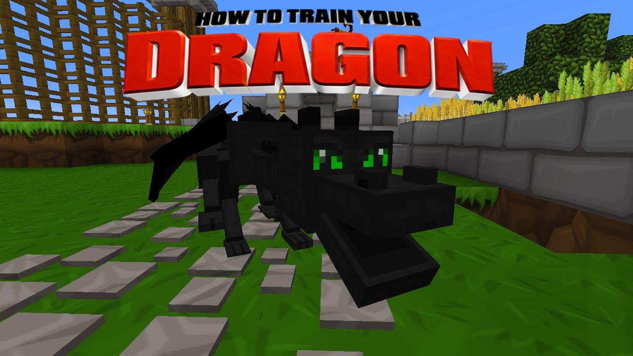 how to train your dragon minecraft mod windows 10