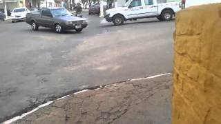 motociclista provoca PM em Santo Antonio do Amparo