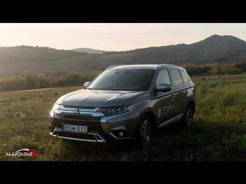 Mitsubishi Outlander 2.0 MIVEC CVT AWD 7 üléssel (2019) - Villámteszt | Alapjárat