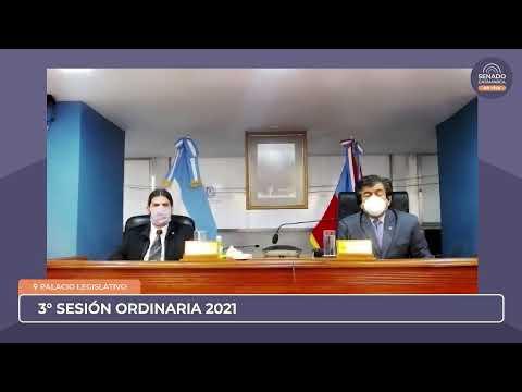 EN VIVO: Tercera Sesión Ordinaria 2021