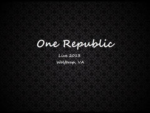 One Republic - Apologize (live) @ Wolf Trap VA
