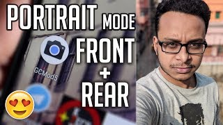 Portrait Mode For Front+Rear Camera On Redmi Note 3! GCMod5    It's Amazing