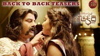 Gautamiputra Satakarni Back To Back Release Teasers - Nandamuri Balakrishna - #NBK100    Krish