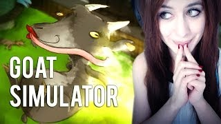 [FACECAM] Let's Play: Goat Simulator #01