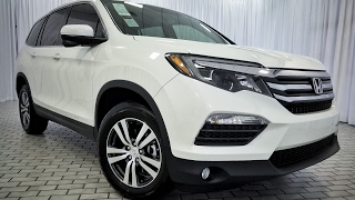 2017 Honda Pilot EX-L Review Interior & Exterior In Depth Feature Tutorial THE Elite Touring SUV