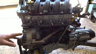 Moteur megane 2 essence 1.4 - تعرف على محرك مجان بنزين