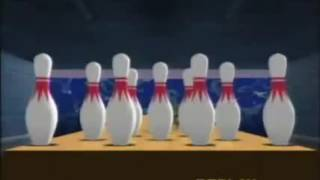 Perfect bowling game in Super Monkey Ball 2