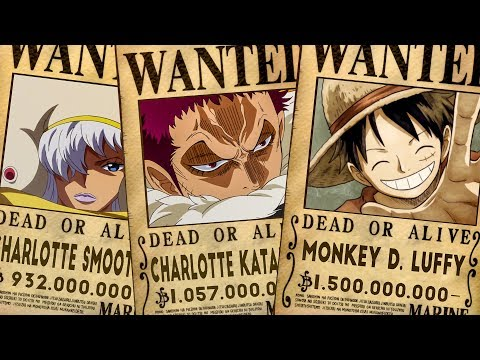 Top 10 Highest Known Bounties In One Piece (Chapter 903+)