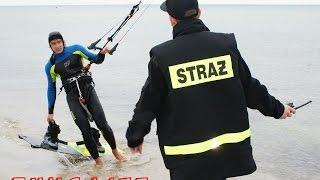 Strojenie gupich min - czyli czołówka światowego i polskiego kitesurfingu na nielegalnej sesji ;)