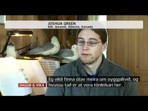 Joshua Green on Faroese TV