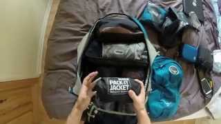 Backpacking South America : What to pack? & Osprey Farpoint review