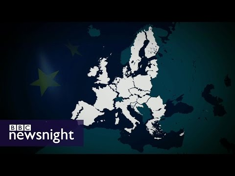 How do you do a deal like Brexit - BBC Newsnight