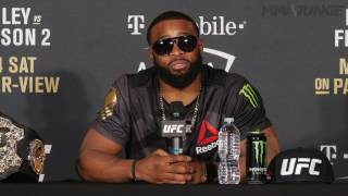 UFC 209 Tyron Woodley post-fight press conference archive