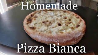WHITE PIZZA   PIZZA BIANCA   HOMEMADE
