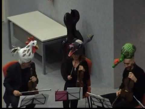 08 Carnevale degli animali – SOMARI – SUSANNA PASQUARIELLO (Somaro e Violino).flv