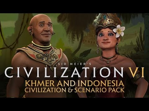 Sid Meier's Civilization VI - Khmer and Indonesia Civilization & Scenario  Pack - PC - Buy it at Nuuvem
