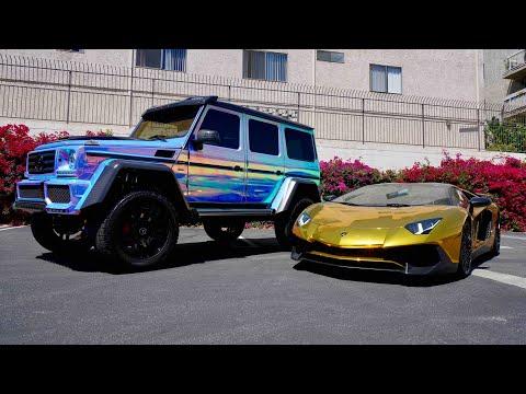 #RDBLA Black Out Wraith, Gold Lambo, Rainbow Chrome G Wagon...