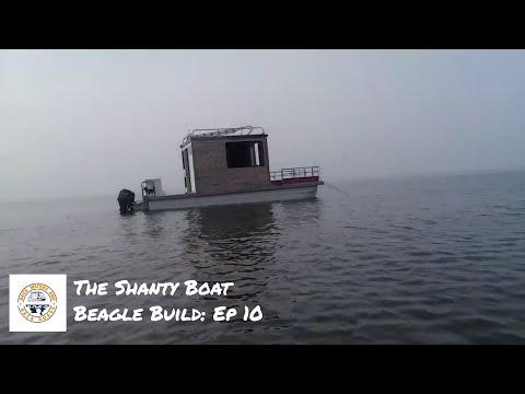 Back Waters Brenton: Shanty Boat Build: Episode 10