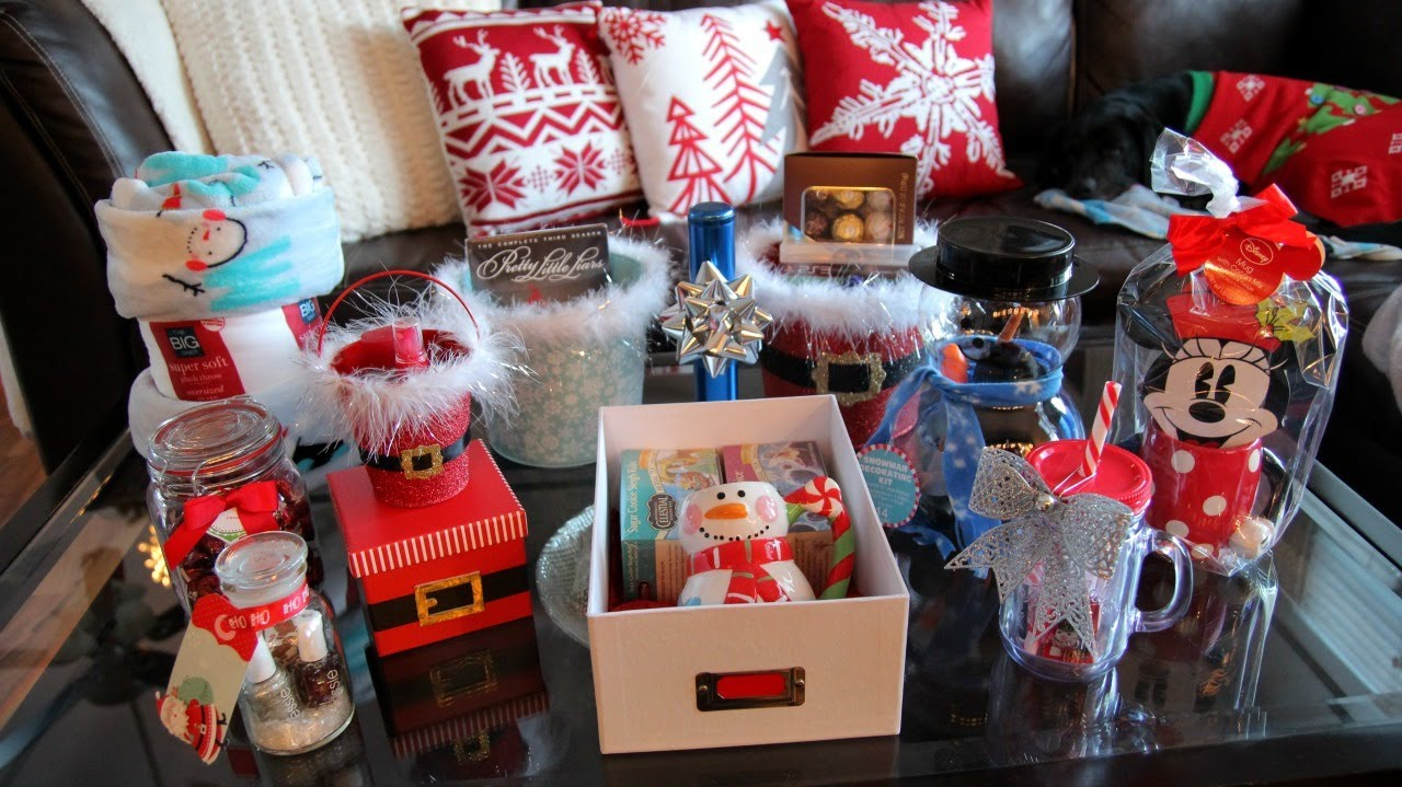 christmas gift ideas & cute packaging ideas ~ mostly inexpensive