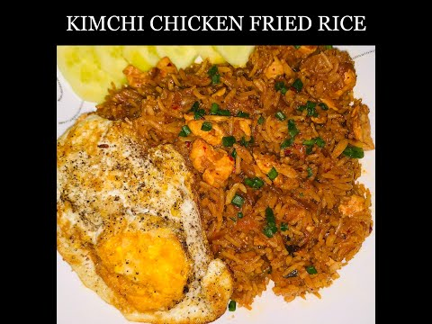 QUICK AND EASY KIMCHI CHICKEN FRIED RICE | HOW TO MAKE BEST KIMCHI CHICKEN FRIED RICE | By Spiced