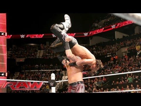 Dolph Ziggler Vs. Heath Slater: Raw, 4. Januar 2016