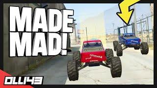GTA 5 RC Car Races - LOL he got so mad...