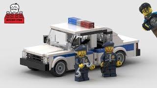 LEGO MOC#30-2 Russia Lada Police Car (Россия Лада Полицейская машина)