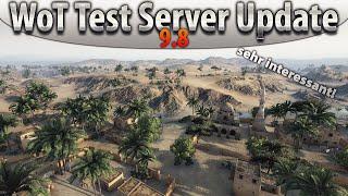 World of Tanks - Test Server Update 9.8 - Sand River - Veränderungen [HD|Deutsch]
