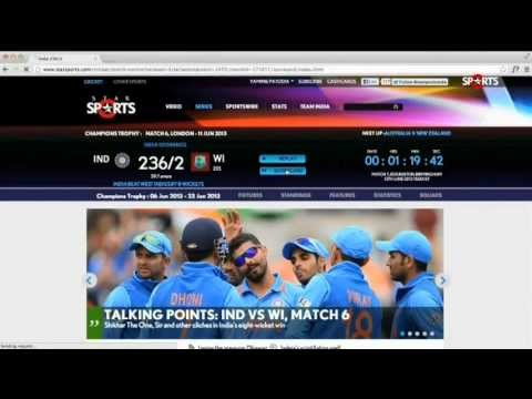 Live Cricket Match Video Score on Today Cricbuzz for mobile: Follow live cricket score: Cricbuzz mobile app is a cricket live score provider along