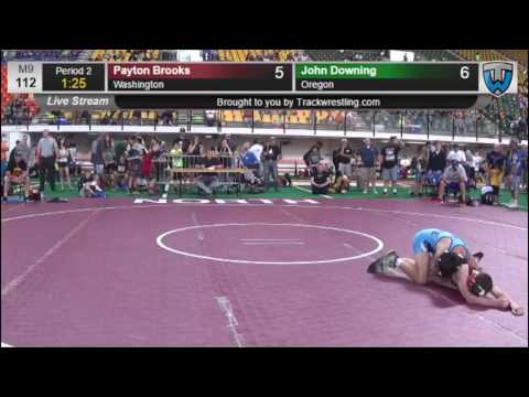 2193 Schoolboy 112 Payton Brooks Washington vs John Downing Oregon 8425571104