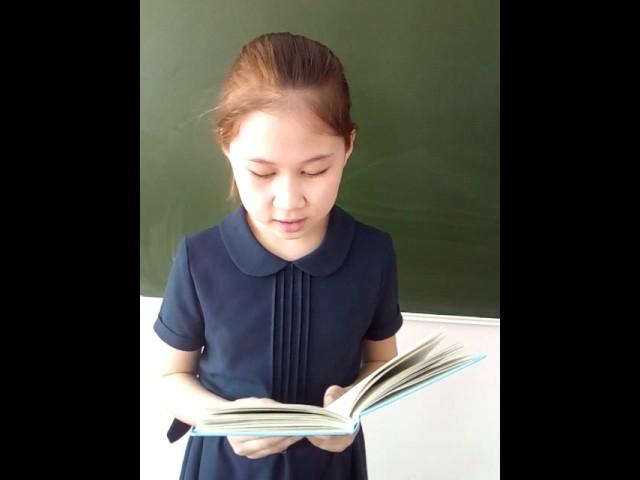 Изображение предпросмотра прочтения – ХакимоваЭльвина читает произведение «Весна (Зима не даром злится…)» Ф.И.Тютчева