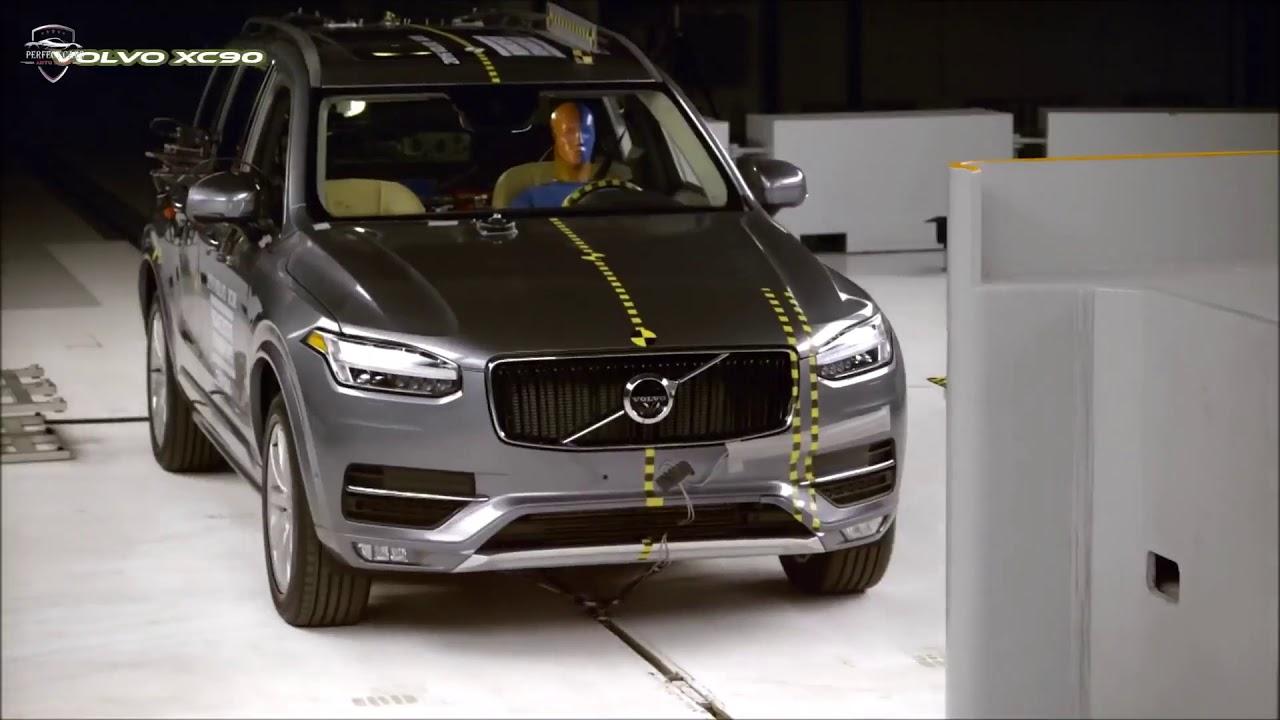 2019 BMW X5 vs 2019 Volvo XC90 - CRASH TEST - YouTube