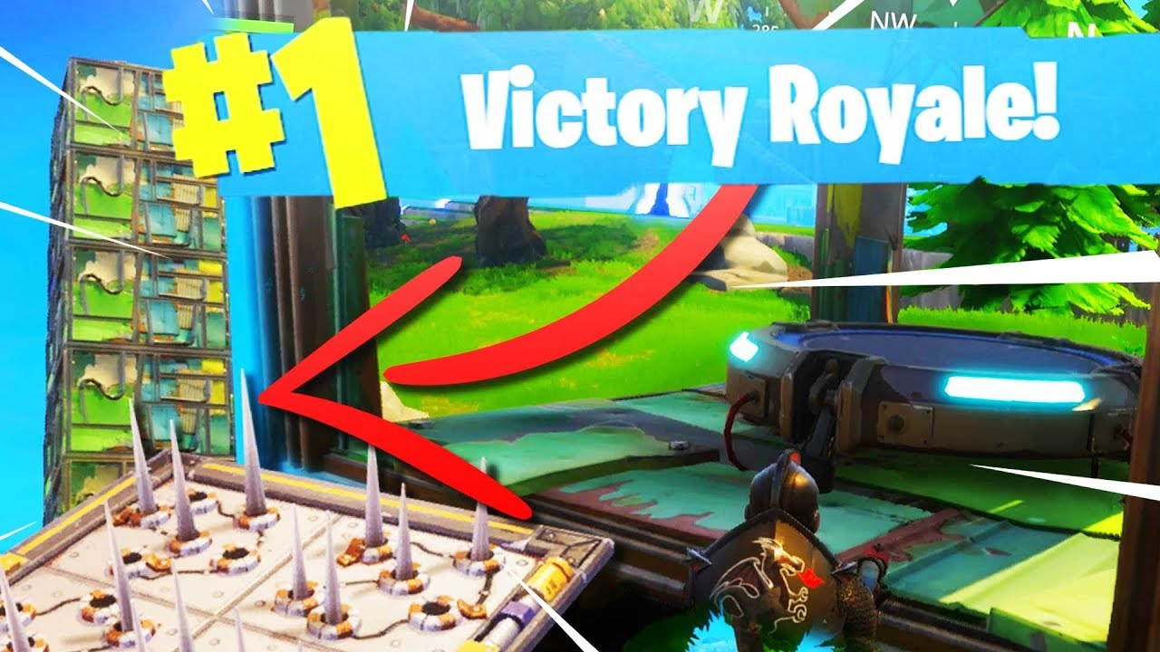 how to get easy trap kills in fortnite