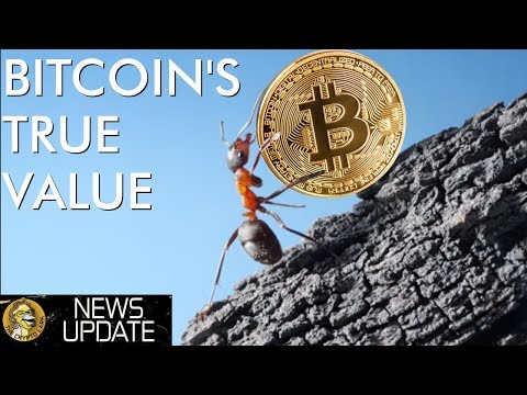 Bitcoin's True Value, Fake Crypto Exchange Volume, & Massive Adoption News