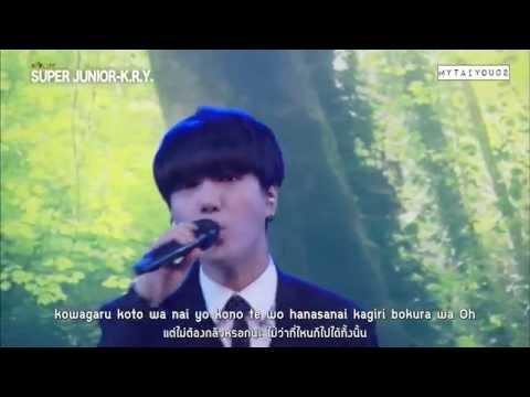 [Thai sub] 150824 Mezamashi Live - Super Junior K.R.Y. (All songs)