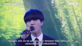 [Thai sub] 150824 Mezamashi Live - Super Junior K.R.Y. (All songs)