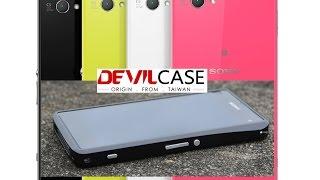 Обзор алюминиевого бампера DevilCase для Sony Z1 Compact