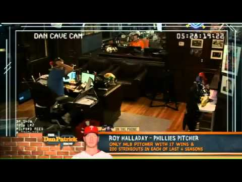 Roy Halladay on The Dan Patrick Show 5.23.12
