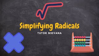 How To Simplify Radicals-Middle School Math