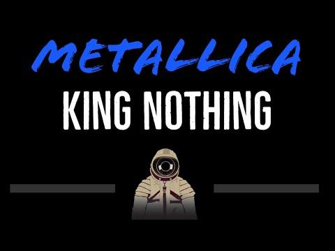 Metallica   King Nothing CC