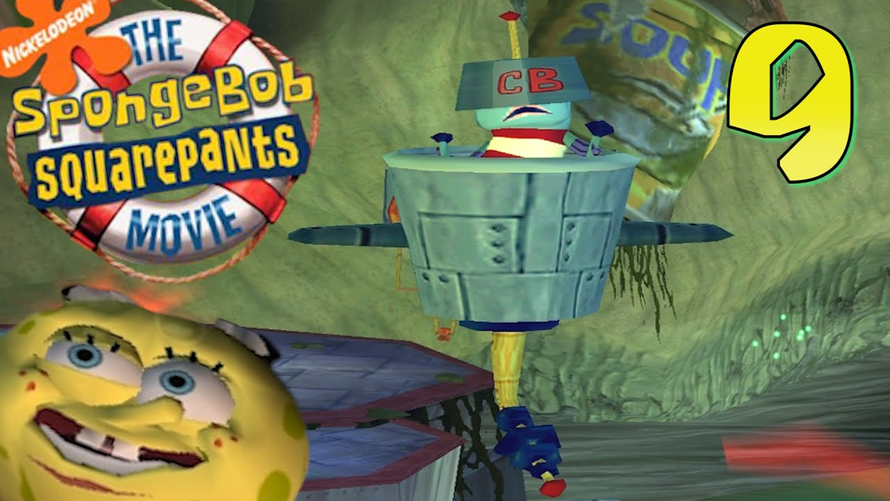 the spongebob squarepants movie video game spongebob