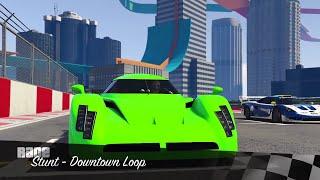 GTA 5 cunning stunts RE-7B stunt race
