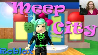 ROBLOX | Meep City | Meet SweetPea | Facecam | SallyGreenGamer