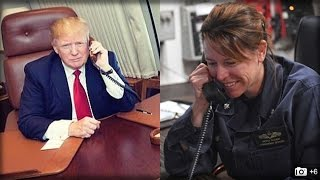 LAST NIGHT TRUMP CALLED UP THIS NAVY COMMANDER, WHAT HE DID NEXT WILL MAKE YOU CRY TEARS OF JOY!