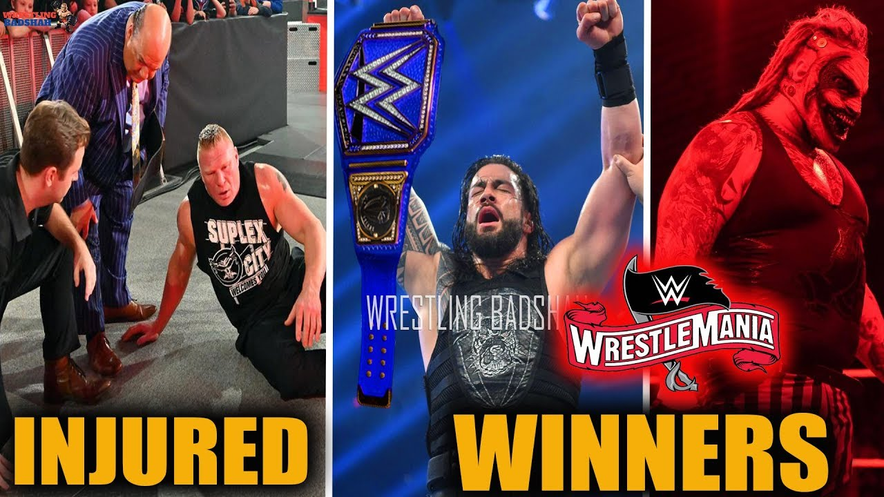 WWE WrestleMania 36 Results: Brock Lesnar's Loss Transforms ...